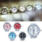 Personalized Men Women Couple Rings Watch Mini Fashion Metal Quartz Watches X6P2 image