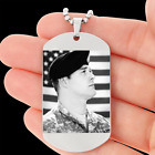Personalized Photo-Engraved Saving Your Memorial Custom Dog Tag Birthday Gifts
