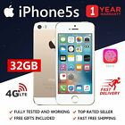 (Grade A+)APPLE IPHONE 5S 16GB / 32GB Gold/Space Grey/Silver Factory Unlocked UK