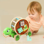 Wooden Shape Pull Toy - Wooden Puzzle Educational Toy Toddler Learning Toy USA