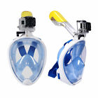 Summer Full Face Scuba Diving Mask Snorkel Swimming Goggles Under Water Anti-fog