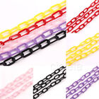5X Durable Plastic Counting Chain C-Links Sugar Glider Rat Parrot Bird Toy Parts