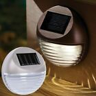 Outdoor Garden Solar Powered Fence Step Gutter Fence Lamps Decorative Led Light