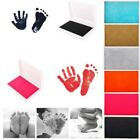Newborn Baby Handprint Footprint Photo Frame Kit Non-Toxic Clean Touch Ink Pad