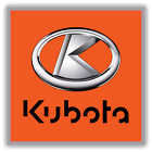 Kubota Power Tractors Agricultural Machinery Logo Vinyl Decal Sticker Window Wal