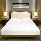 """10"""" Queen Two/Three Layer GEL Open Cell Firm Memory Foam Mattress with 2 Pillows"""