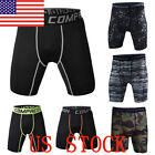 US Men Fitness Tight Shorts Compression Short Camouflage Running Run Pants JAP