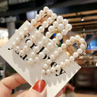 Внешний вид - Womens Pearl Hair Clip Snap Barrette Stick Hairpin Hair Accessories Gift Jewelry