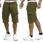 New Mens Chino Shorts Cotton Casual Summer Half Pant Stretch Slim Fit Short UK