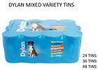 DYLAN DELICIOUS MEATY CHUNKS 400G TINNED DOG FOOD CANNED VARIETY PACKS DPD 24HR