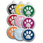 Kyпить Red Dingo Dog ID Pet Tag FREE Personalized Engraved - Free Shipping - PAW PRINT на еВаy.соm