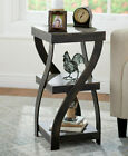 Antique Finish Side Tables Furniture Home Garden Patio Bed End Old