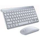 Wireless Keyboard And Mouse Combo Set 2.4G For PC Laptop Computer Full Size Slim