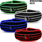 Weight Lifting Belt Neoprene Gym Fitness Workout Double Support Brace Double