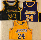 Kobe Bryant #24 Los Angeles Lakers Swingman Mens Jersey Black / Purple / Yellow