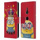 OFFICIAL MINIONS MINION BRITISH INVASION LEATHER BOOK CASE FOR SONY PHONES 1