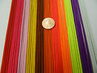 2 mm. ELASTIC CORD RED PINK YELLOW BROWN ORANGE PURPLE WHITE 2,5,10,20 yards