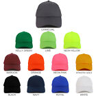 Youth Size Kid's Structured Cotton Twill Adjustable Baseball Cap - FREE SHIPPING
