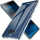 For Sony Xperia 1 2 10 XZ2 XZ3 XA2 XA3 Ultra thin Clear Soft Silicone Case Cover