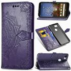 For Google Pixel 3A XL Card Wallet Retro PU Leather Flip Stand Case Cover&Strap
