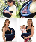 Внешний вид - new hot Infant Newborn Adjustable Carrier Sling Wrap Rider cotton Backpack