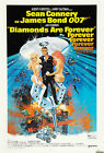 Home Wall Print - Vintage Movie Poster - BOND DIAMONDS ARE FOREVER - A4,A3,A2,A1 £5.99 GBP on eBay