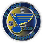 NHL Stanley Cup Champions St Louis Blues Ice Hockey Vinyl Decal Sticker Car Wall