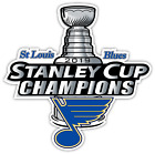 Nhl Stanley Cup Champions St Louis Blues Ice Hockey Vinyl Decal Sticker Bumper