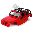 313mm Convertible Open Jeep Wrangler Body Shell for 110 RC Axial SCX10 90046