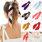 Kyпить BOHO Bow Satin Long Ribbon Ponytail Scarf Hair Tie Scrunchies Elastic Hair Rope на еВаy.соm