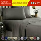 KING SIZE SUPER SOFT DEEP POCKET (4) PIECE SHEET SET BED SHEETS IN MANY COLORS image
