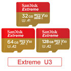 SanDisk Extreme Micro SD Memory Card SDXC U3 V30 A1 A2 TF Card For Gopro 6 7