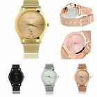 Luxury Quartz Watches Women Stainless Steel Strap Analog Wrist Band Watch US New image