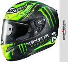 HJC RPHA 11 Cal Crutchlow Monster Race Replica Motorcycle Helmet Race RPHA11