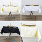 """SQUARE Premium Polyester Tablecloths 54"""" Restaurant Catering Home Party SALE"""