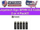 AUTHENTIC    eGo AIO   BFHN 0.5ohm   5 Pack   US Seller
