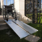 2 4 5 6 8 10ft Wheelchair Scooter Rack Disability Medical Ramp Hitch Mount New