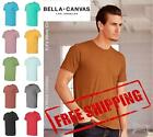 Bella + Canvas Unisex Short Sleeve Heather Jersey Tee T Shirt 3001CVC up to 5XL image