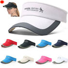 Unisex Summer Golf Tennis Hat Women Men Sports Wide Brim Beach Visor Sun Hat Cap