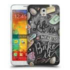 OFFICIAL LILY & VAL FOODIE TYPOGRAPHY GEL CASE FOR SAMSUNG PHONES 2