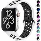 Kyпить Apple Watch Silikon Armband Sport Armband Series 1 2 3 4 5 Uhrenarmband 38-44 mm на еВаy.соm