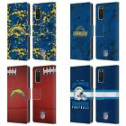 OFFICIAL NFL 2018/19 LOS ANGELES CHARGERS LEATHER BOOK CASE FOR SAMSUNG PHONES 1 $19.95 USD on eBay