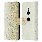 HEAD CASE DESIGNS CONFETTI LEATHER BOOK WALLET CASE FOR SONY PHONES 1
