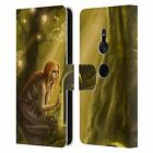 OFFICIAL SELINA FENECH FAIRIES 2 LEATHER BOOK CASE FOR SONY PHONES 1