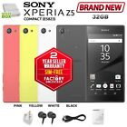 New Sim-free Unlocked Sony Xperia Z5 Compact E5823 2gb/32gb Black Android Phone