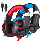 Gaming Headset ONIKUMA K2 USB 7.1 Surround Sound with Mic for PS4 XBox One PC