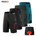 Men's Baggy Cycling Shorts Loose-fit MTB Mountain Bike Bicycle Casual Pants New