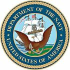 US NAVY MILITARY DECAL STICKER 3M USA MADE TRUCK VEHICLE CAR WINDOW LAPTOP WALL