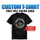Custom Personalized T-Shirt Printing with your photo, text, logo anything lot image