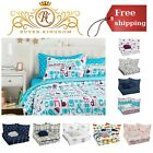 Kids Bed In A Bag Bedding Full Queen Set With Comforter Flat Sheet Pillow Cases image